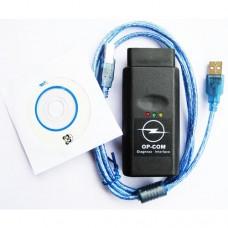 Автомобильный диагностический сканер Opel Com (2009 OPCOM OP COM Opel/Saab CAN Diagnostic OBD2)