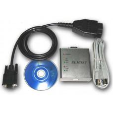 Универсальный диагностический адаптер ELM327 USB поддержкой CAN (металл)
