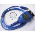 Универсальный автомобильный USB-адаптер K-L линии VAG COM 409.1 KKL USB